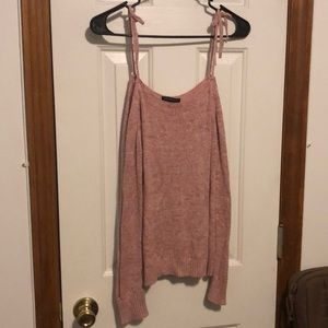 American Eagle Cold Shoulder Top- size small